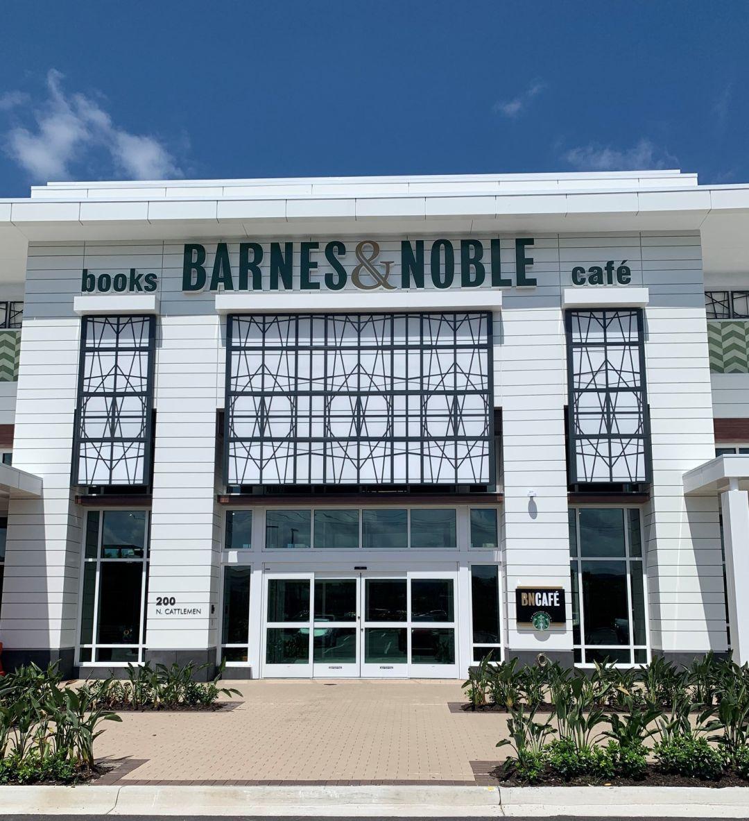 Barnes & Noble's new University Town Center store.