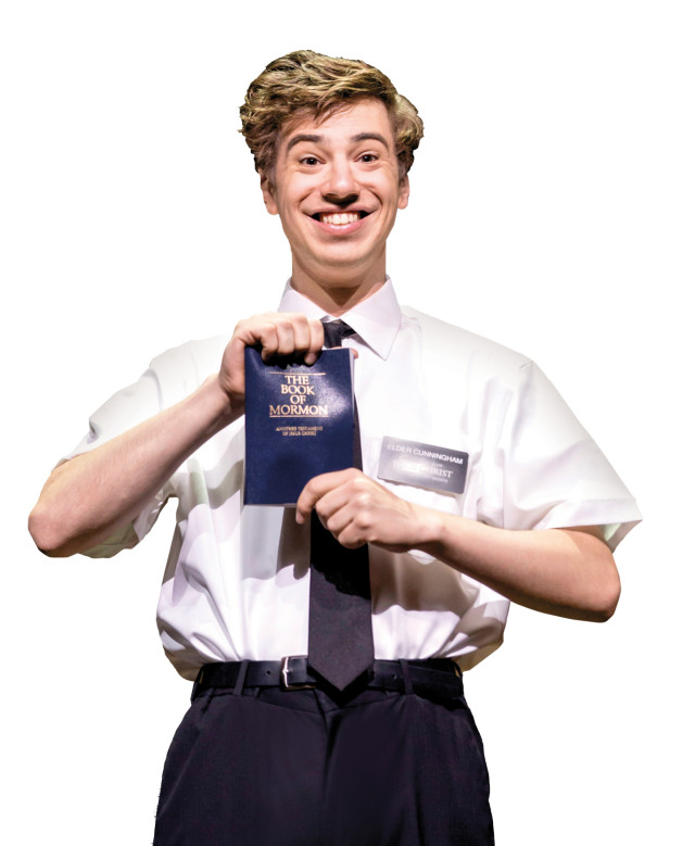 Photo two. a.j. holmes. the book of mormon. credit johan persson njyf7u