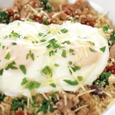 Power breakfast quinoa bowl ttedmh