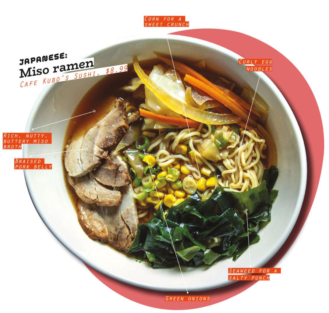 Asian noodle dish at aspen restaurant photos 54