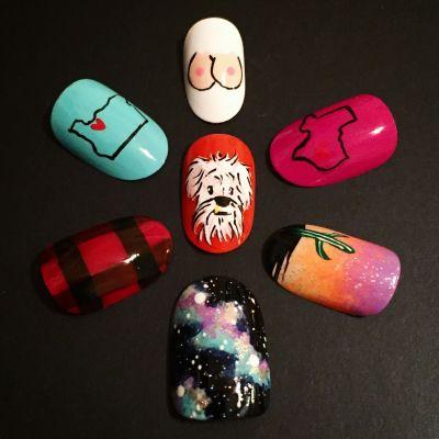 Portland nails yall menu mbamwl
