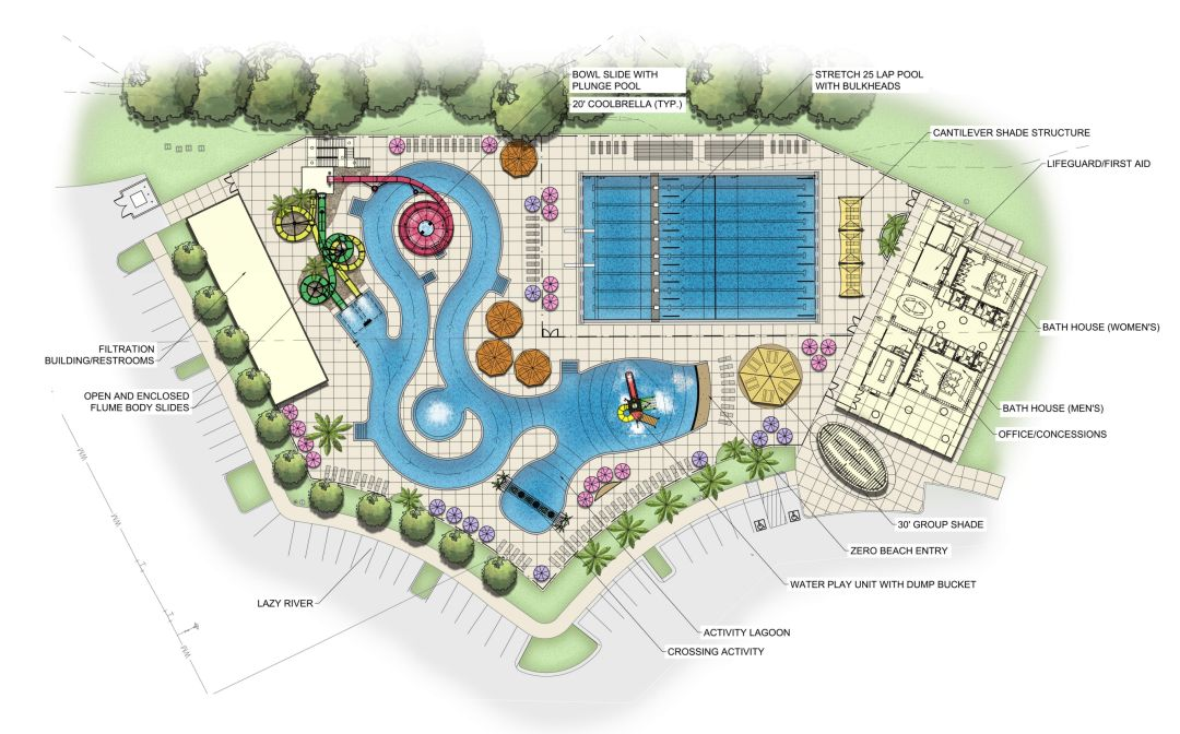 North Port Approves Plans For New Aquatic Center