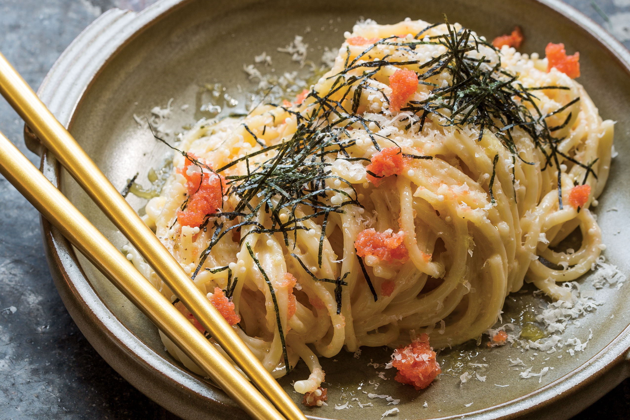 1117 best restaurants han oak mentaiko spaghetti xcd6vi