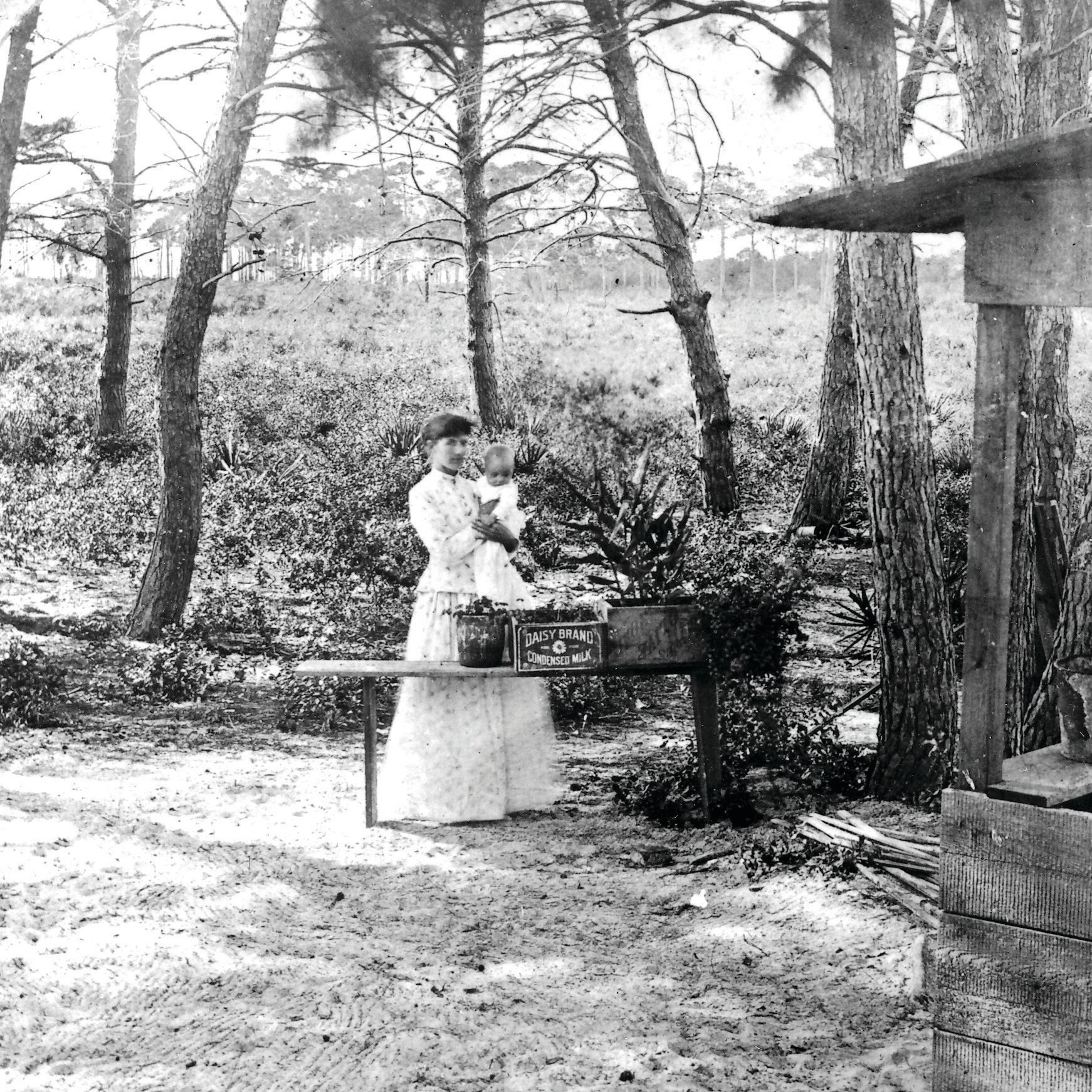 Mother and baby pinardadj courtesy of sarasota county historical resources  felix pinard collection laholu