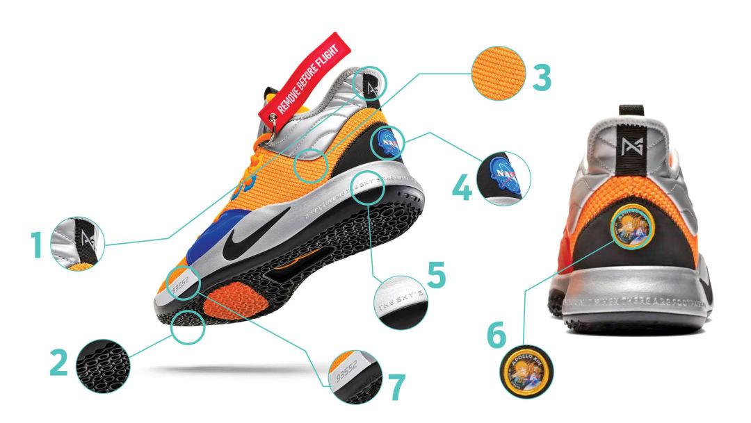 NASA-themed sneakers