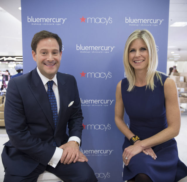 Barry beck and marla beck  bluemercury founders  at the grand opening of bluemercury in macy s memorial city in houston  tx on wednesday  january 20  2016 ruhdez