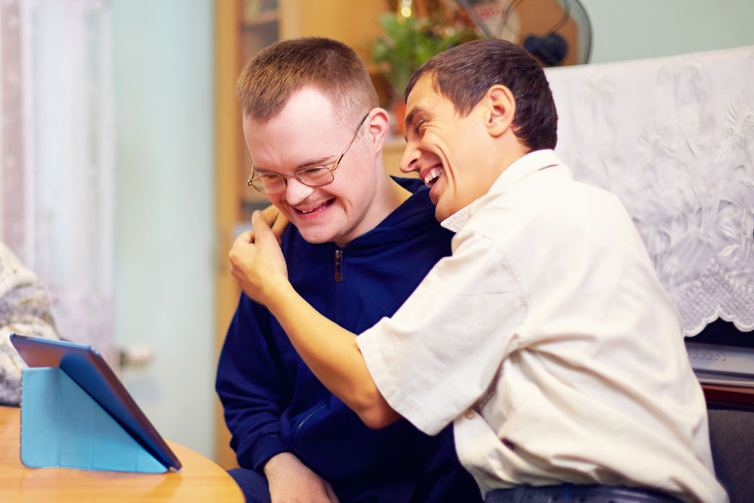 Twenty-one-year-old Trevor Kelliher created an app for adults with developmental disabilities who want to make friends in the community.