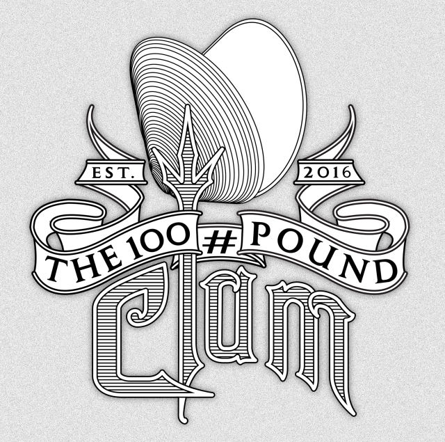 The 100 pound clam gray utbhbh