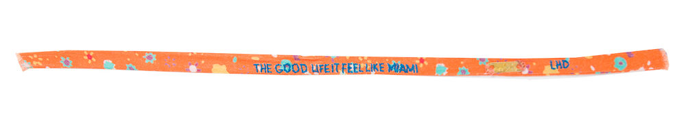 Lhd 01 lyric bracelet the good life it feel like miami cqhuzj