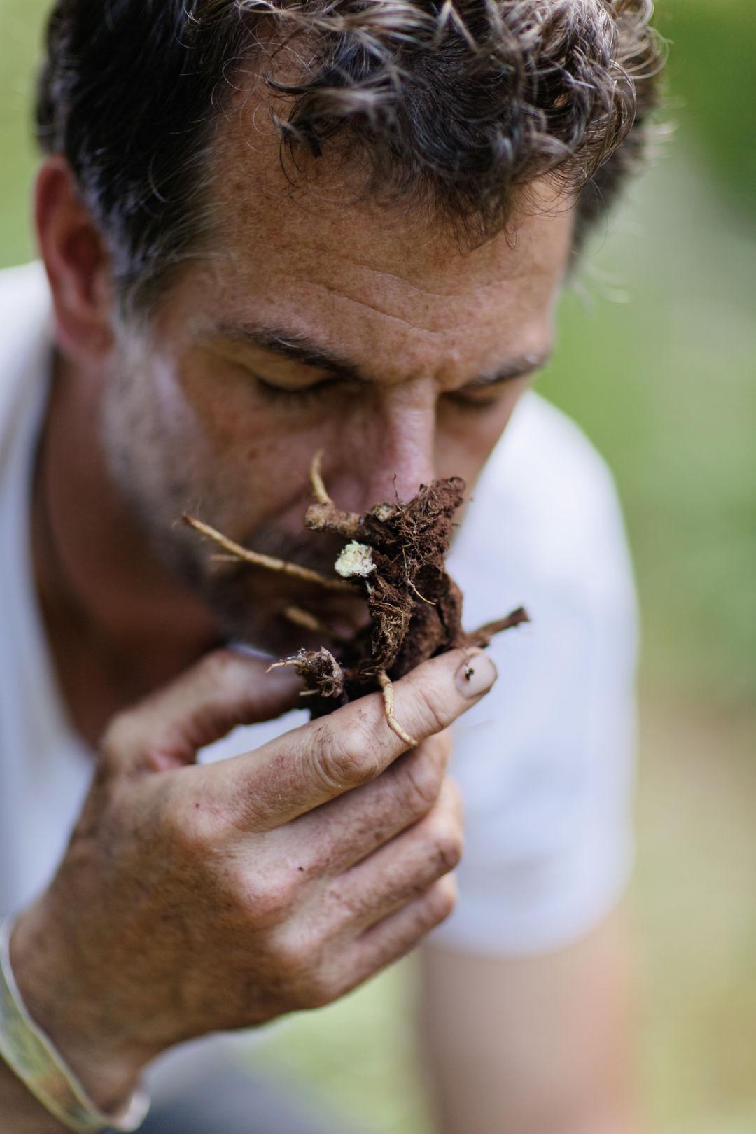 Angelica Bella Fotos foraging with aspen restaurateur c. barclay dodge | aspen
