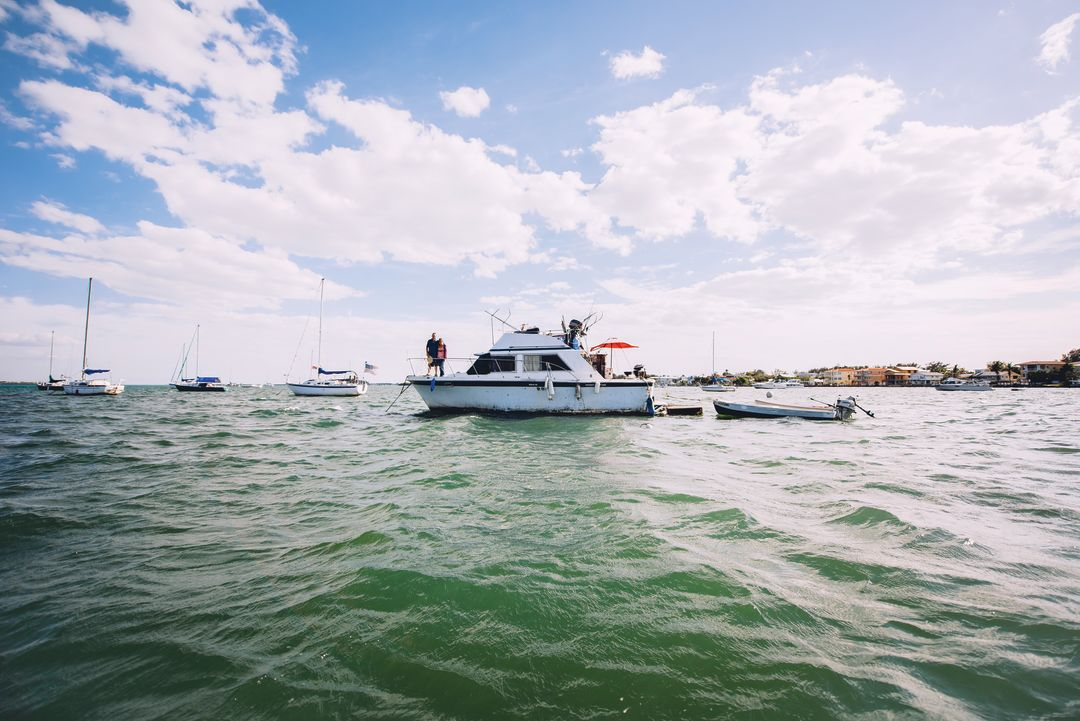 Freedom is Sweet for the Liveaboards Off Bradenton Beach