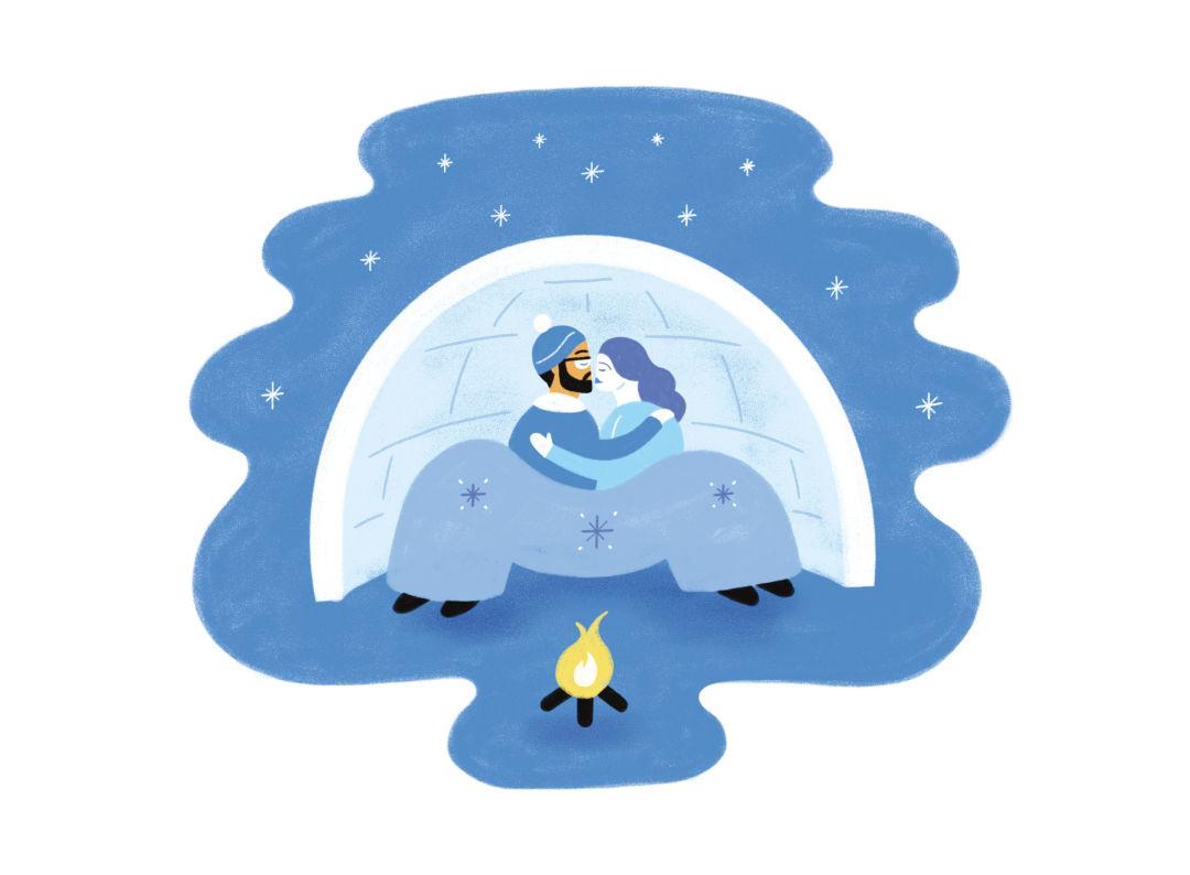 Pomo 0117 winter relax snowpocalypse illo shrext