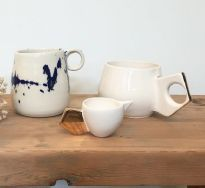 Mugs and creamer set qsddp1