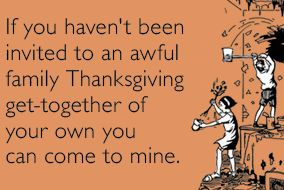Awful family invitation thanksgiving ecards someecards vvq5oo