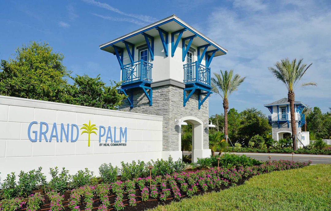 New entrance at grand palm swnjed