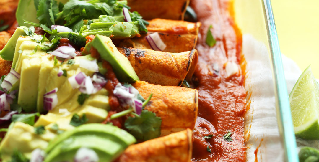 The best vegan enchiladas d1he8h