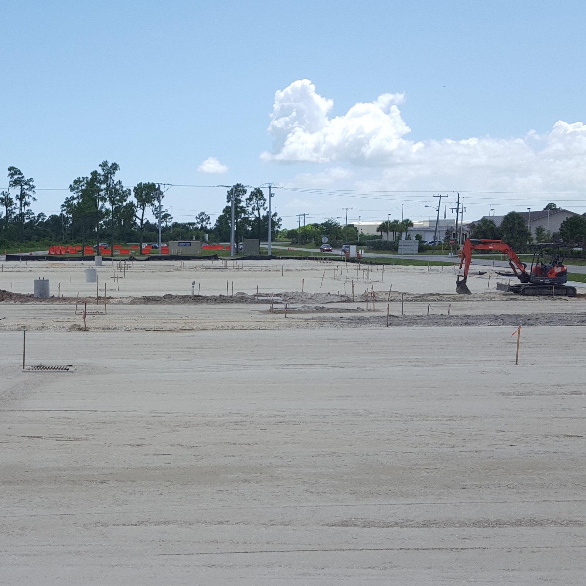 Punta gorda airport construction mucgly