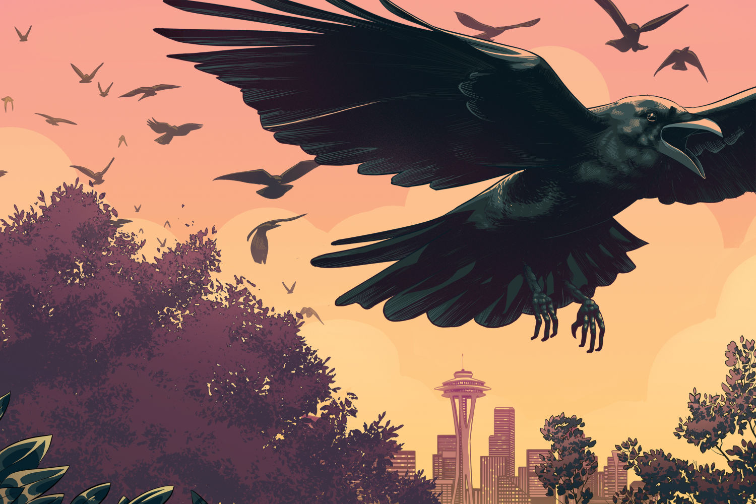 The Secret Life of Urban Crows …