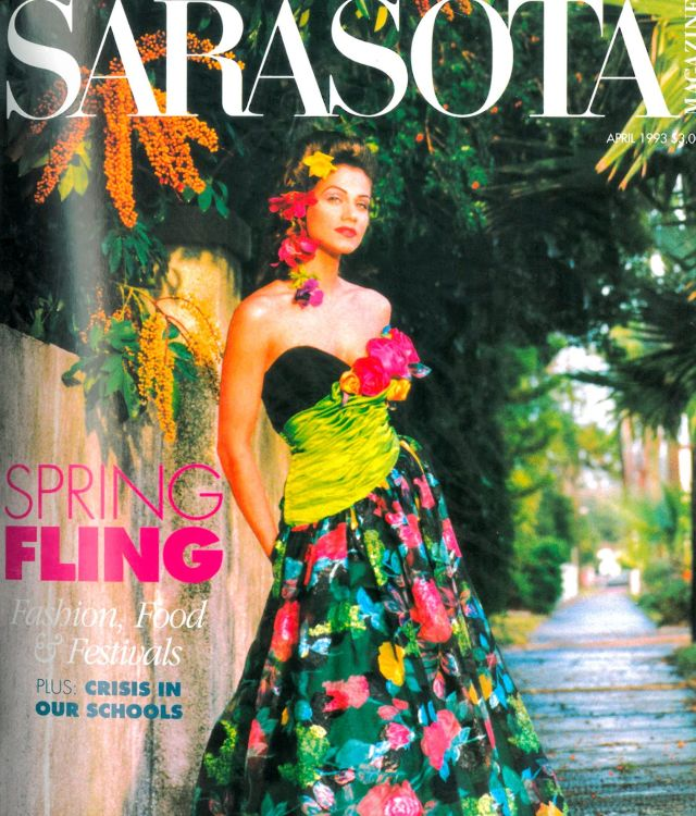 Sarasota magazine   april 1993 cover vy4qki
