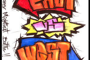 East vs west logo  by turboman1 tfedhs
