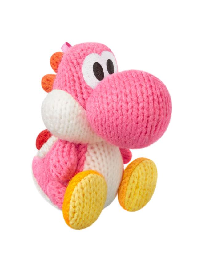 Amiibo   pink yarn yoshi copy qlmvol