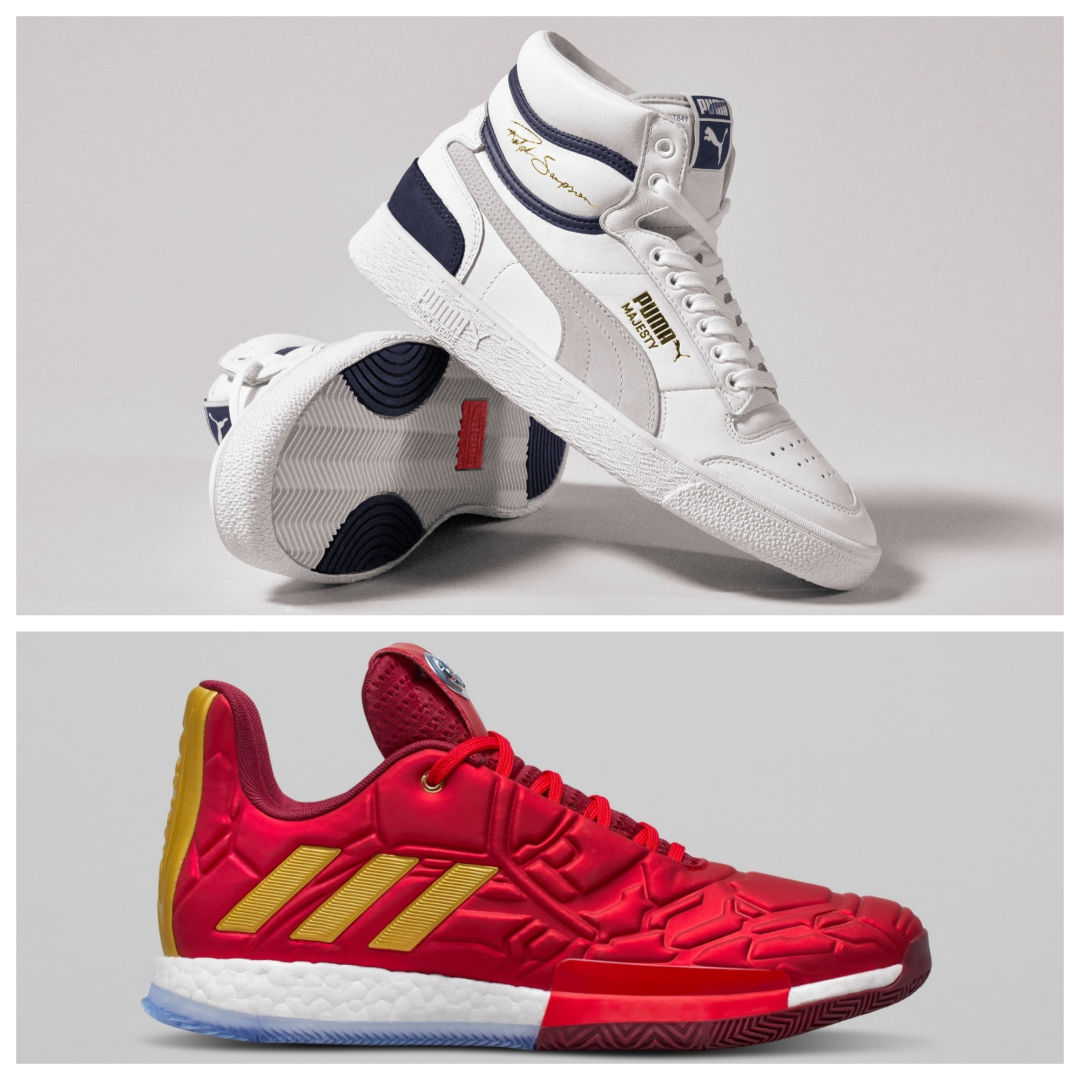 size 40 a7368 18820 PUMA honors Ralph Sampson while adidas and Marvel (yes, Marvel) reimagine James  Harden as Iron Man.