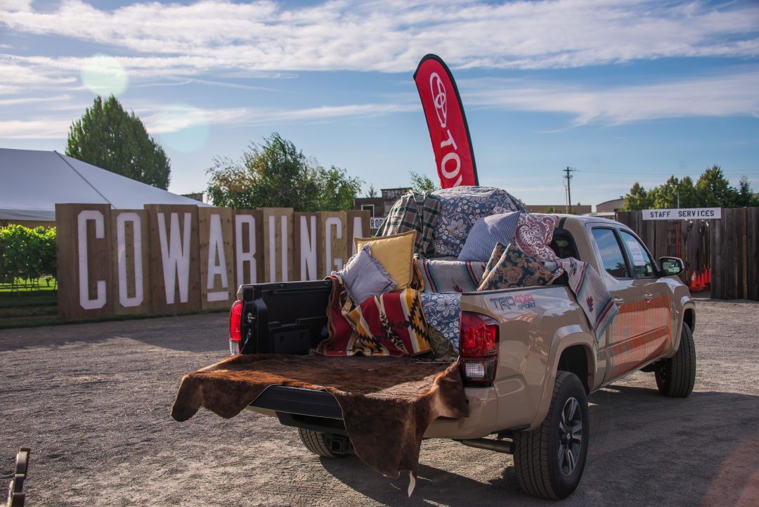Summer Sizzles with the Toyota Tailgate Sweepstakes