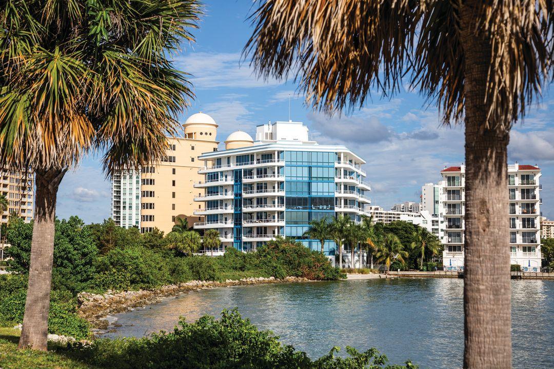 The Sarasota bayfront