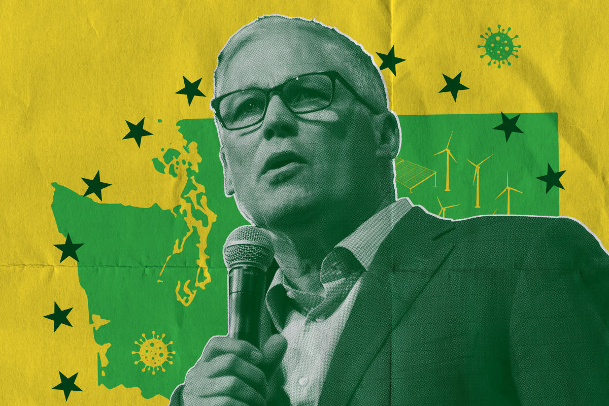 Why Jay Inslee Chose to Stay in This Washington