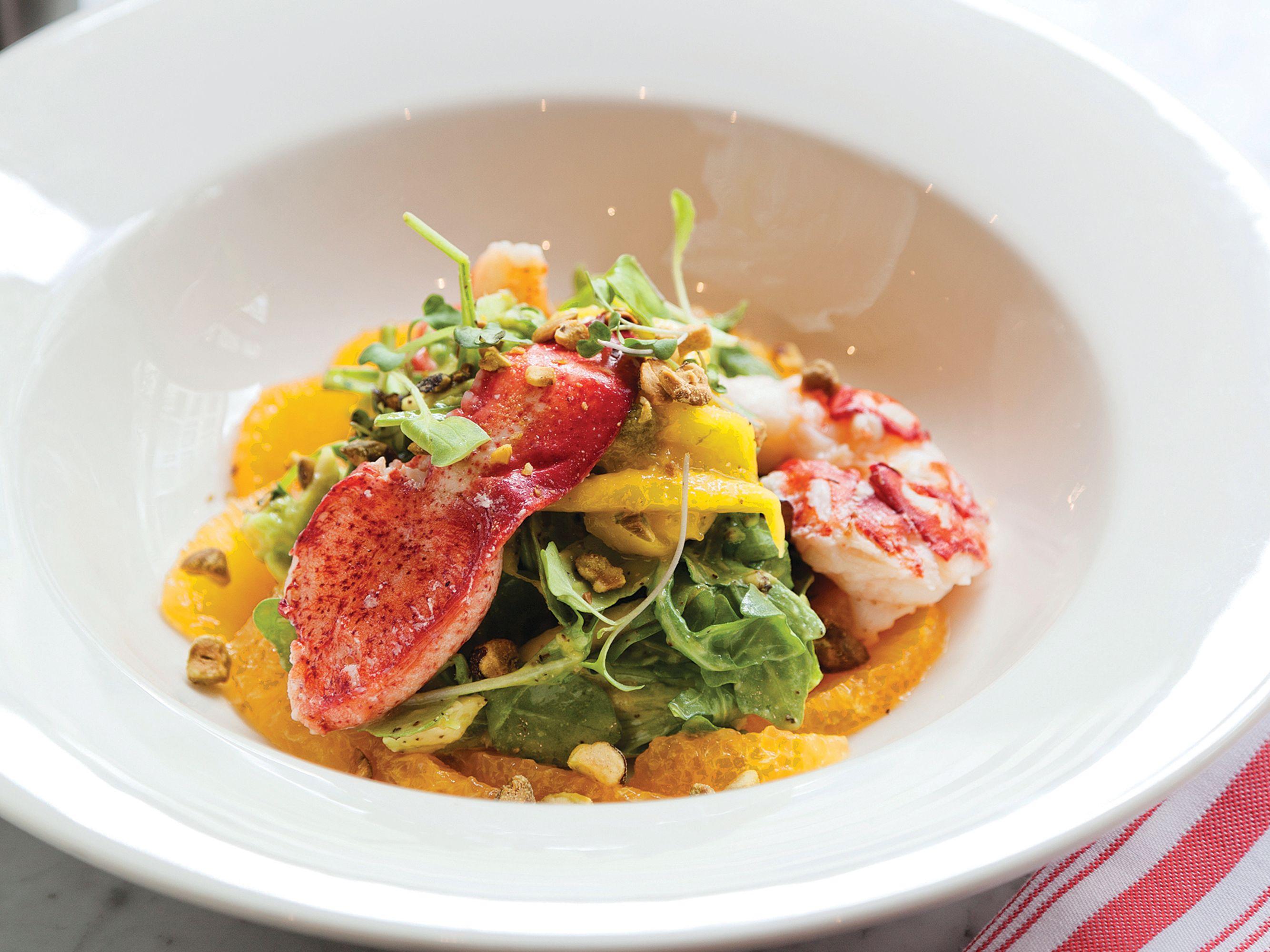 Hou 1116 dine toulouse lobster salad eqxeco