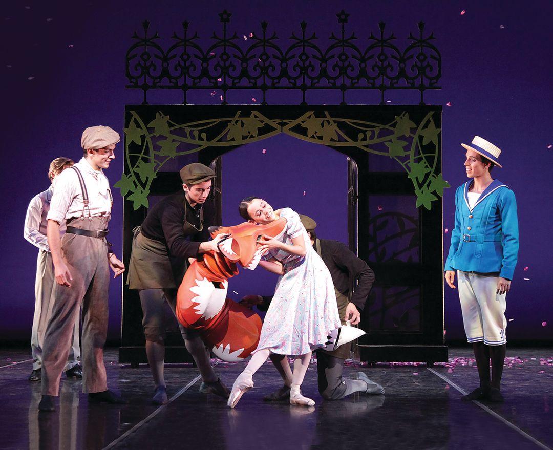 The sarasota ballet in will tuckett s the secret garden   photo frank atura cidwr8
