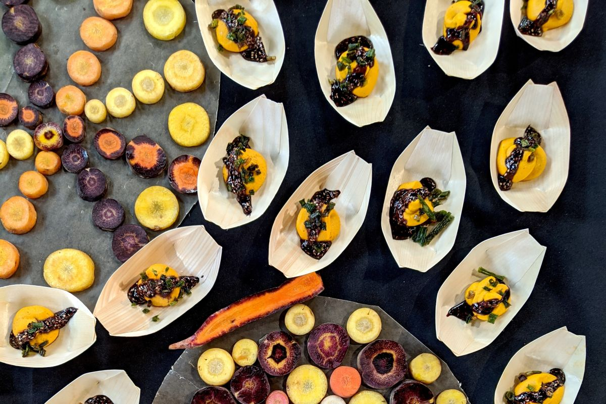 The Culinary Breed Network's Variety Showcase Was A Psychedelic Veggie Trip