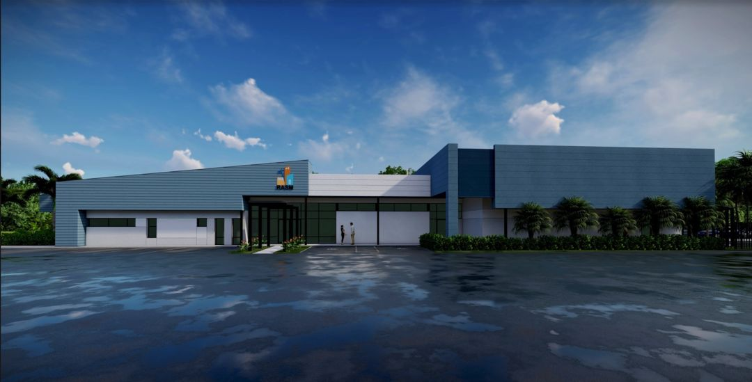 A rendering of the new RASM building in Manatee County