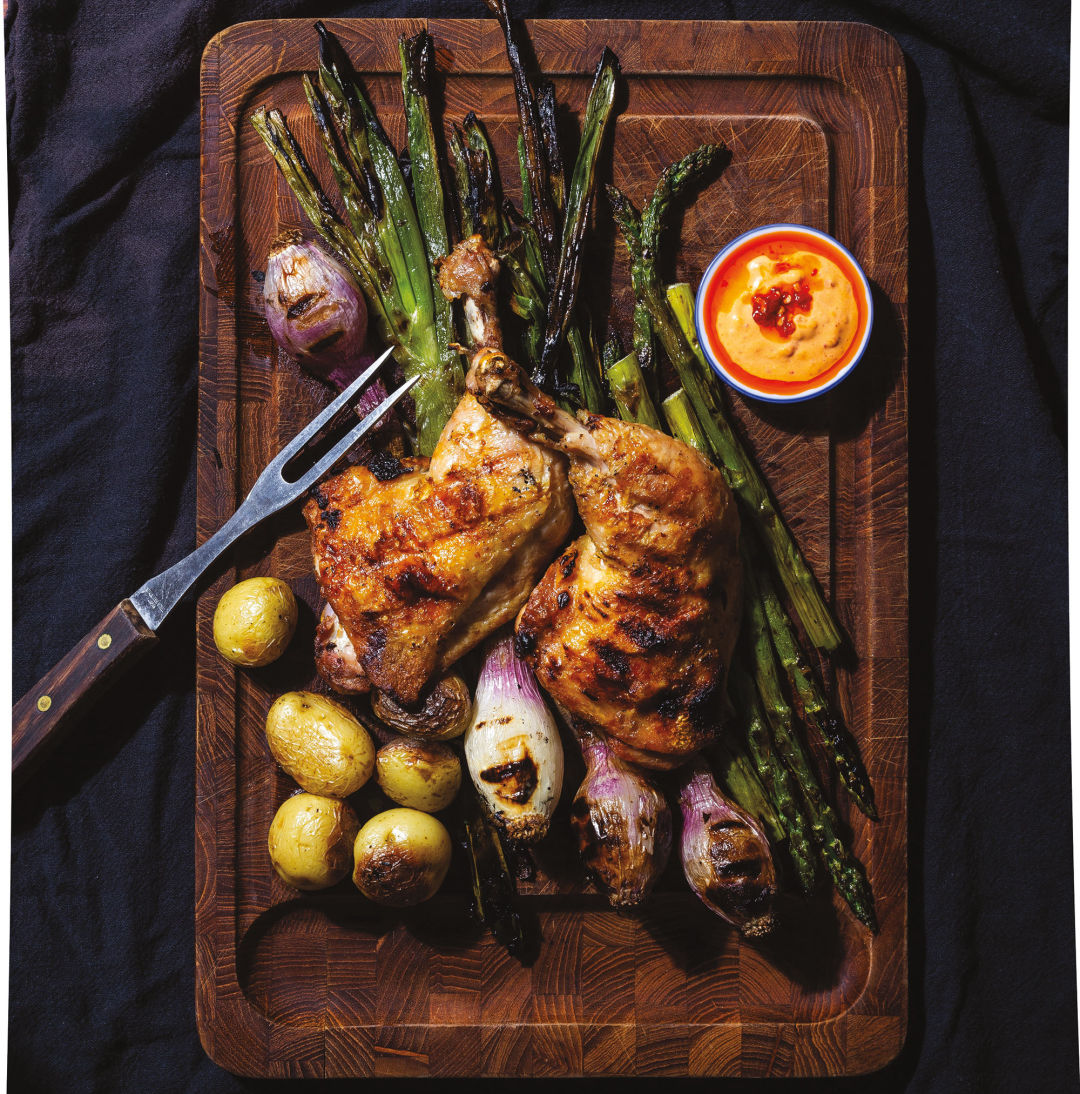 How to Make Mama Bird's Beautifully Brined Grilled Chicken