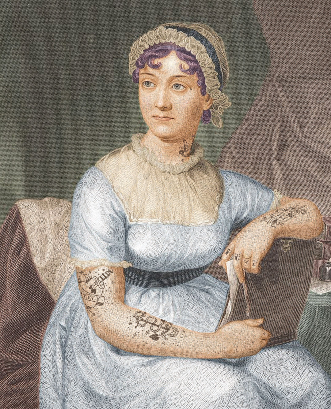 Jane austen coloured version tu9um7