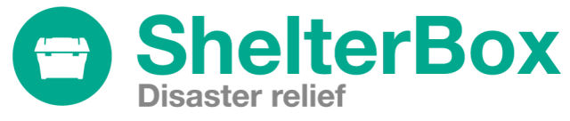 Shelterbox logo strapline w6diqd