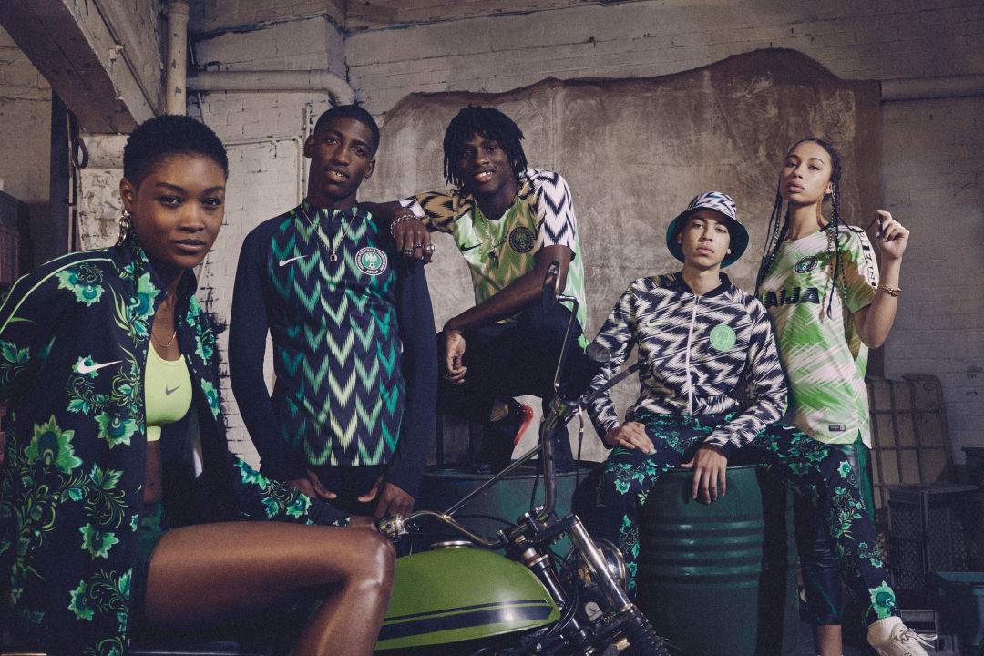 063cc37db Nigeria s Stylish (and Portland-Born) World Cup Jerseys Sold Out in Minutes