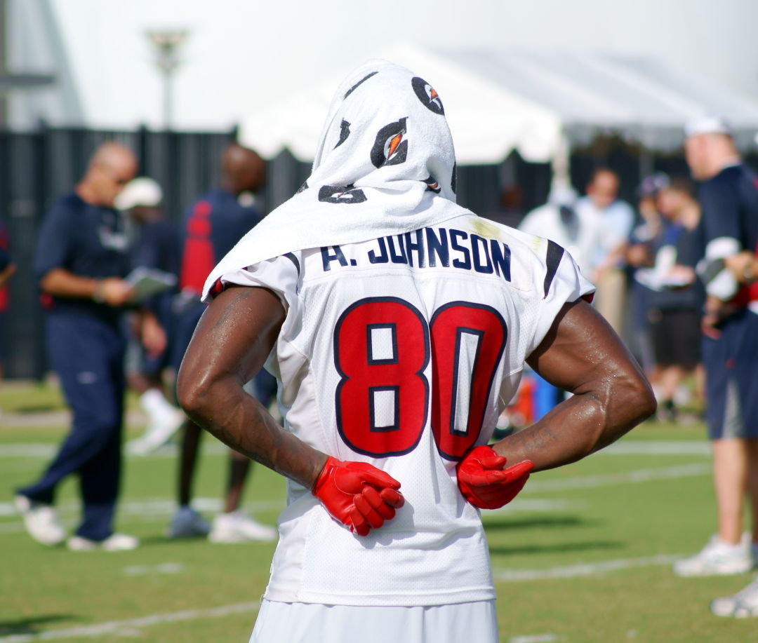 Andre johnson   houston texans vqhswu