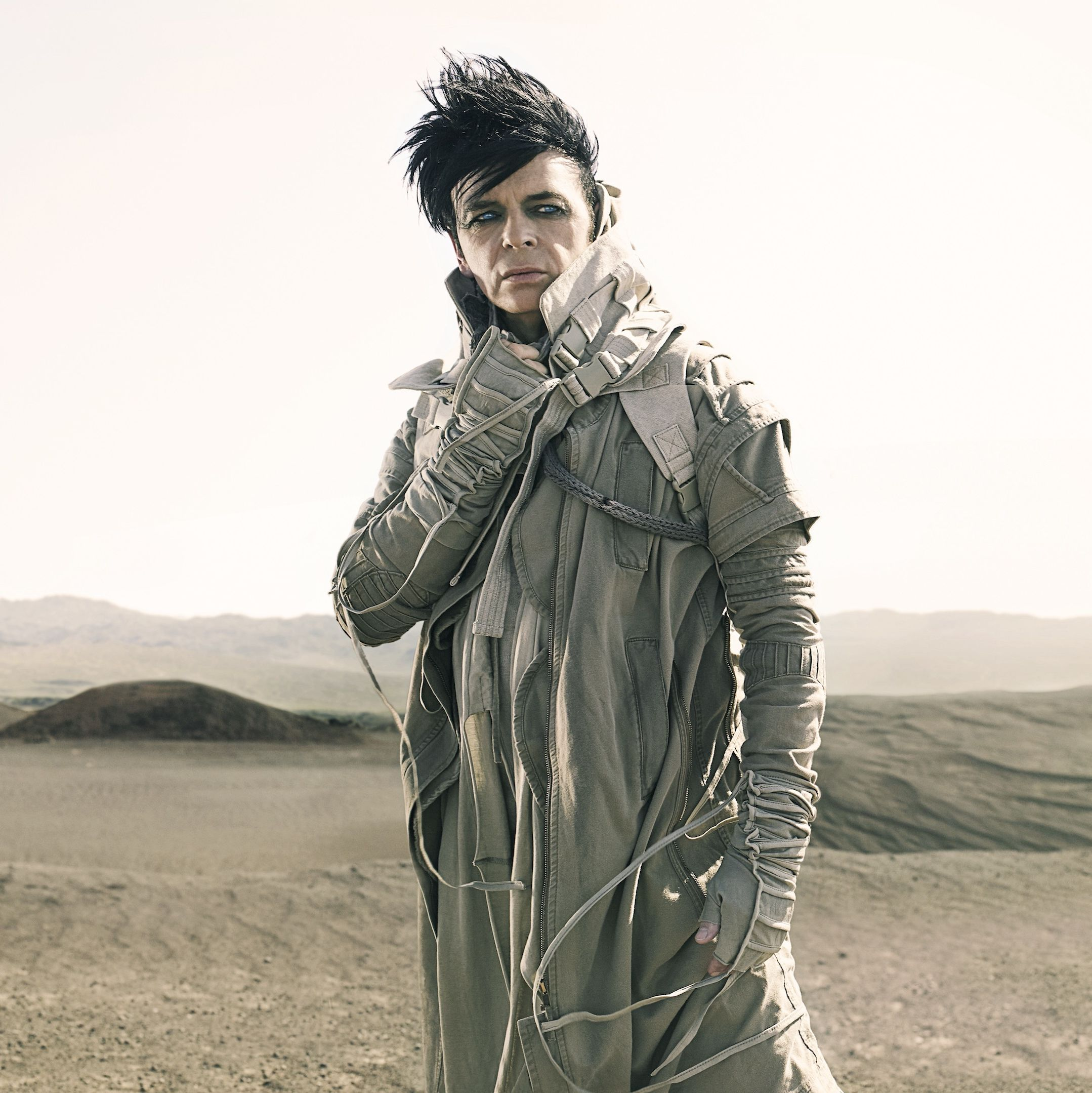 Gary numan photo by km4hrv