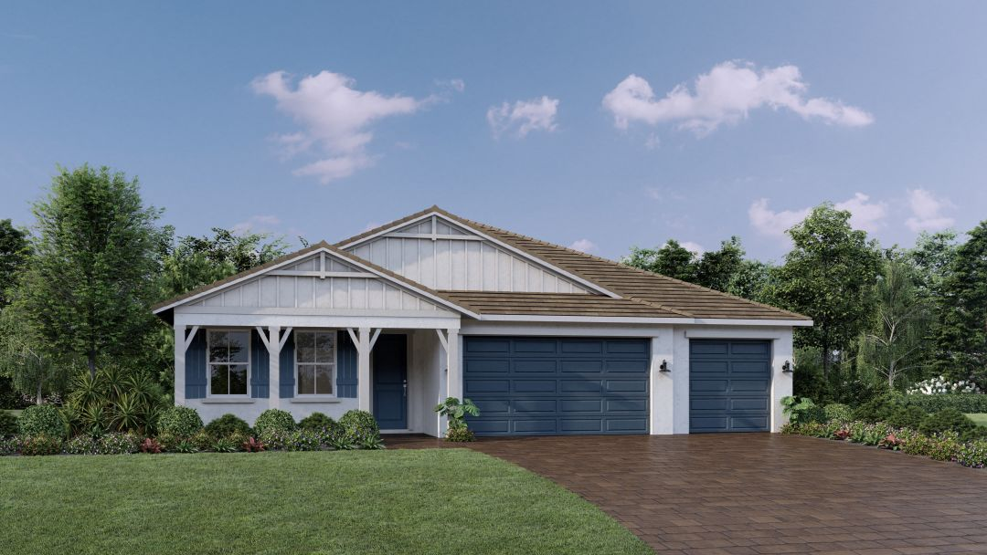 Toll Brothers' Florda Farmhouse model