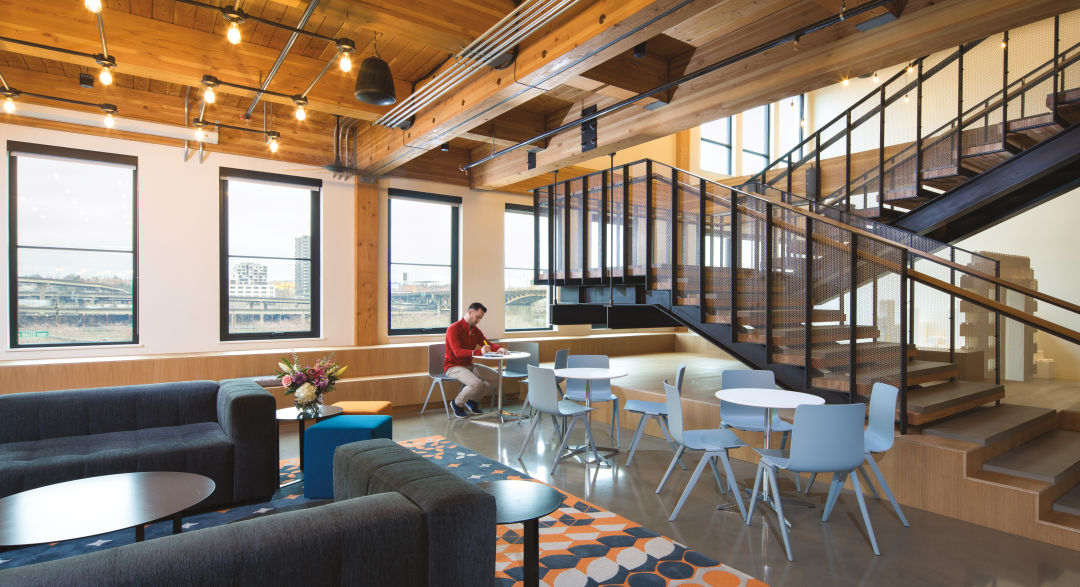 inside architecture firm ankrom moisan's plum new digs | portland