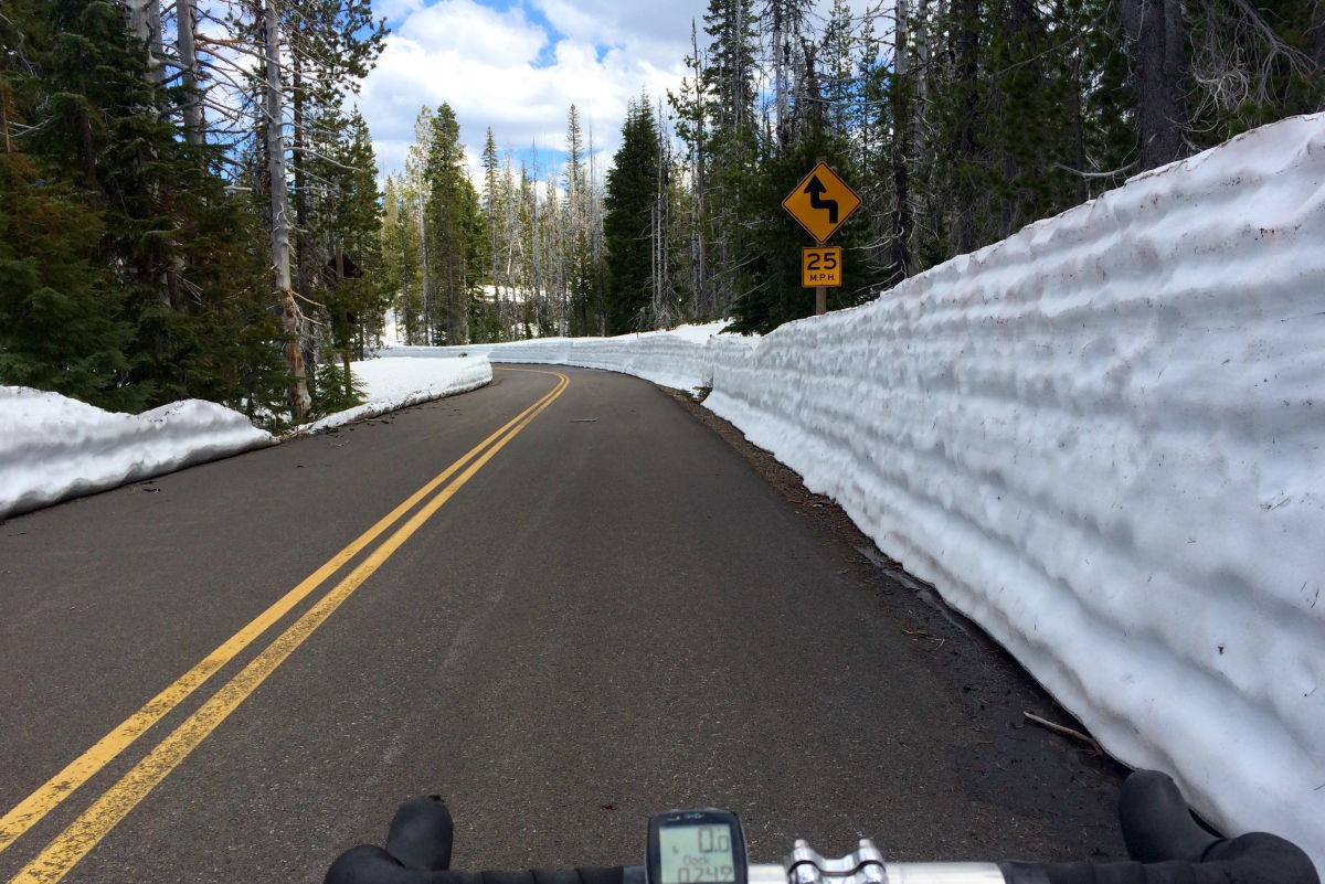 Bike McKenzie Pass Right Now—While It's Still Car-Free