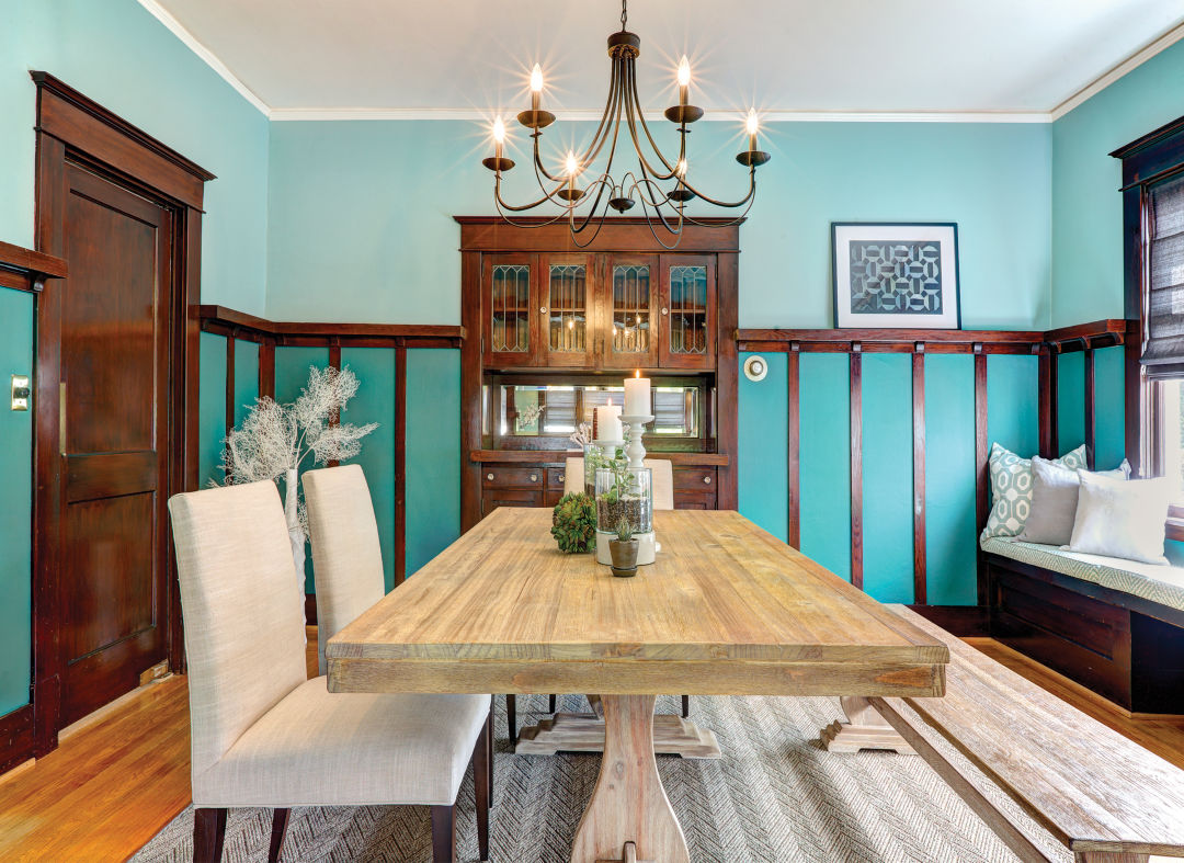 A Colorful, Classic Update to a Queen Anne Craftsman