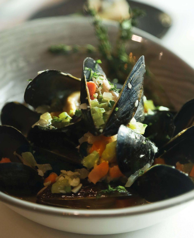 Belgian-style mussels