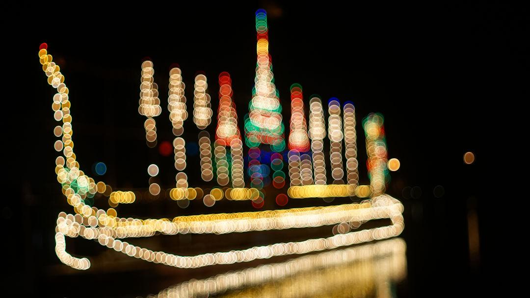 Holiday boat parade e6hclk