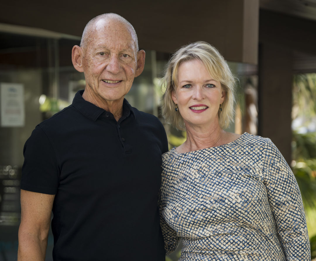 All Faiths Food Bank 2021 Campaign Against Summer Hunger co-chairs Keith Monda and Veronica Brady