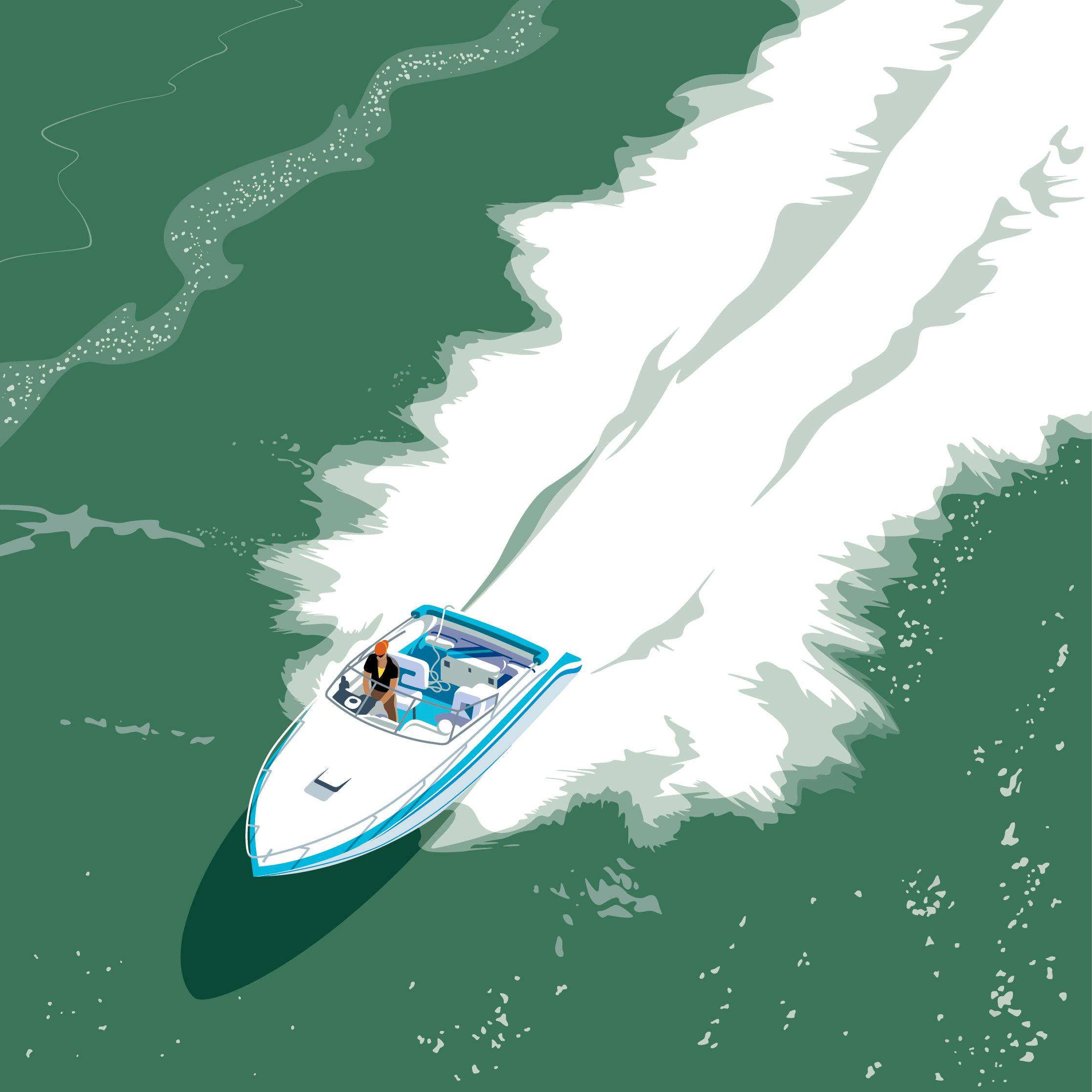 Speedboat ringling bridge l47blb