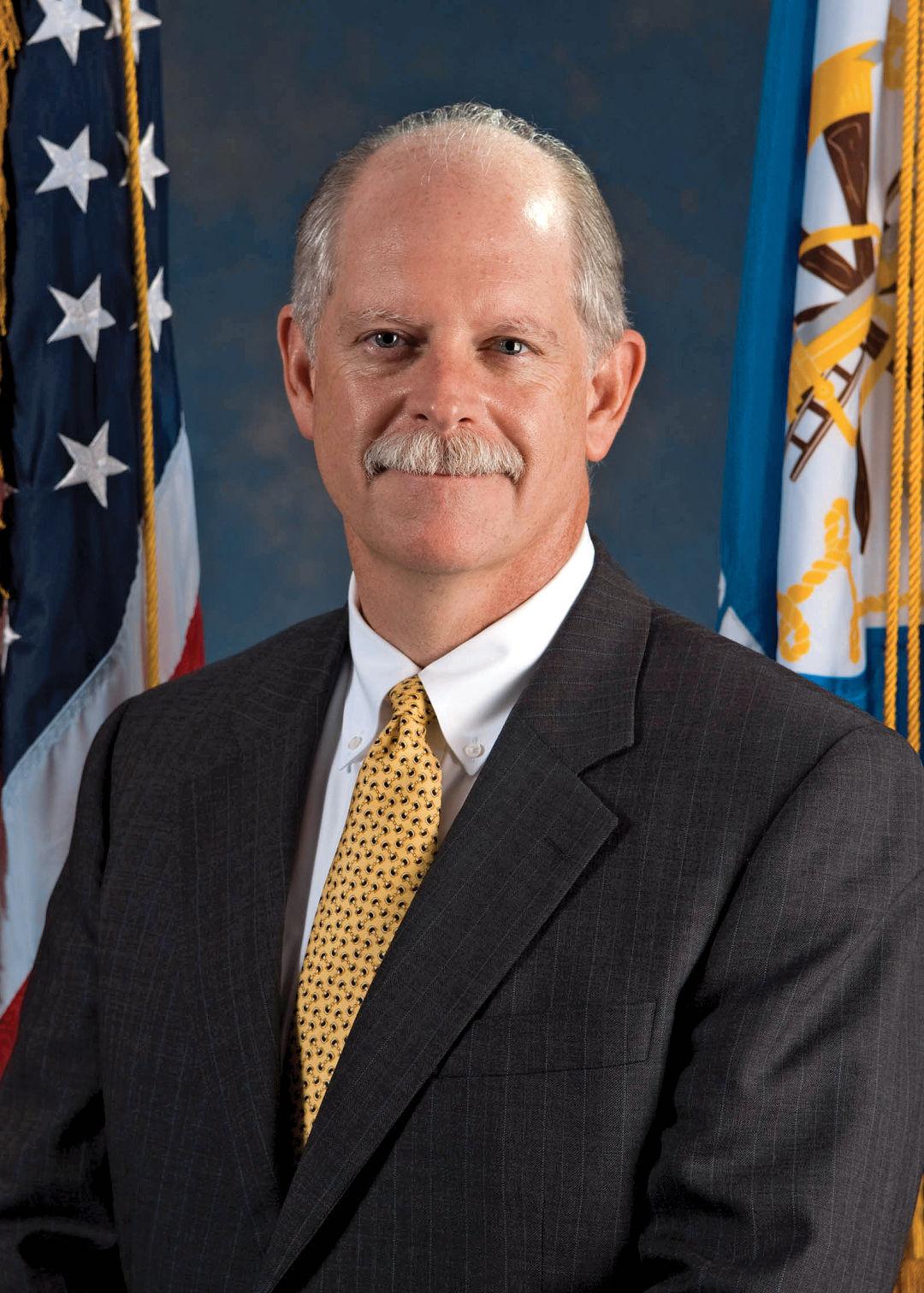 A portrait of Dr. David Persse.