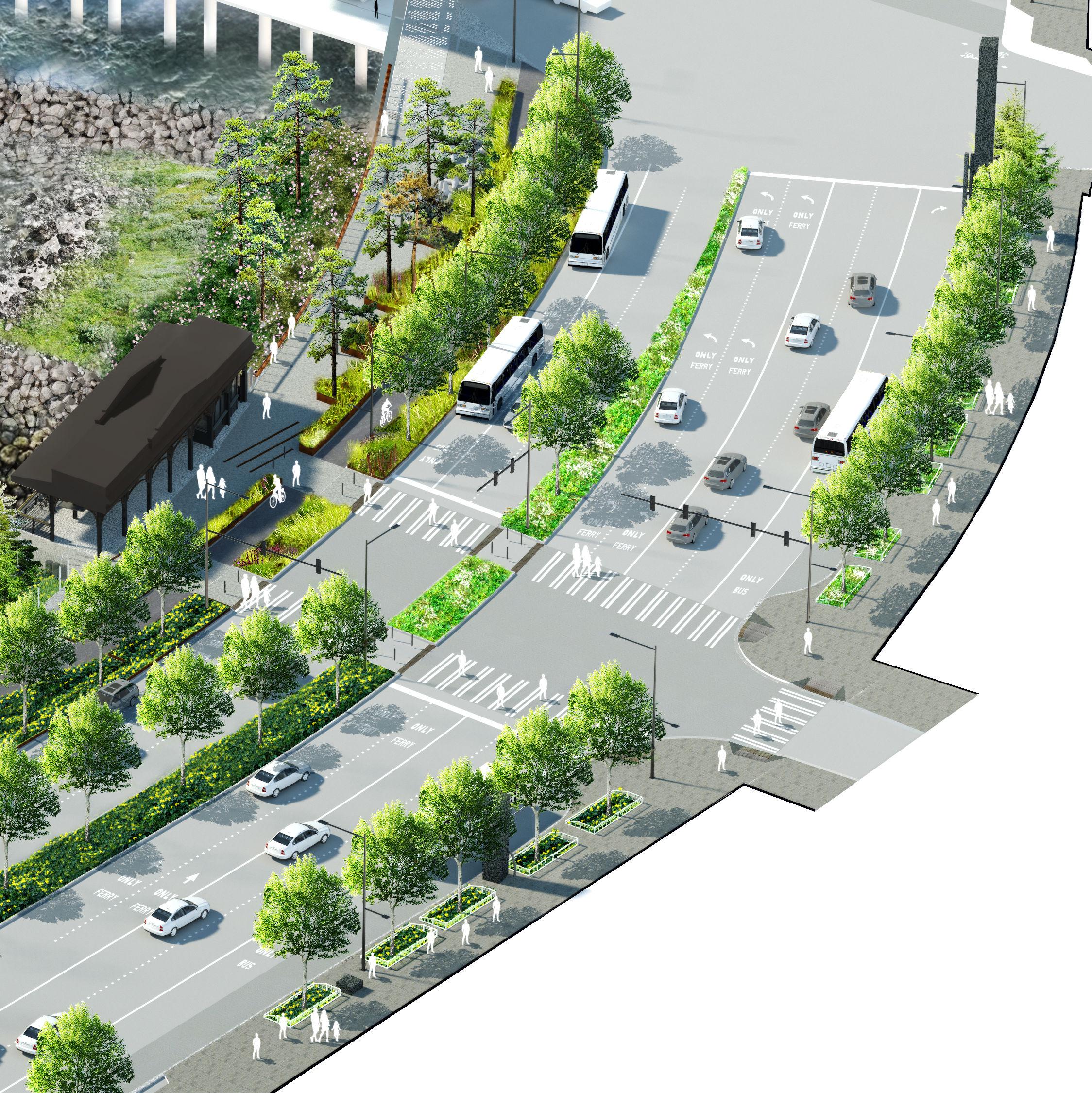 Wfs axon s washington street intersection uudmns