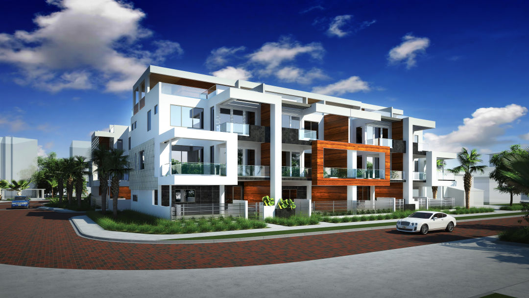 Allure front elevation rendering xa8h6q